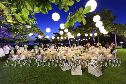Decoraciones de eventos realizadas por for Bodas en el campo decoracion